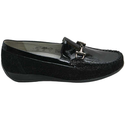 Giselle/Gitta Bit Loafer Black Points
