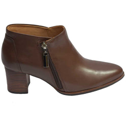 Amazon 2 Lat Zip Boot Brown