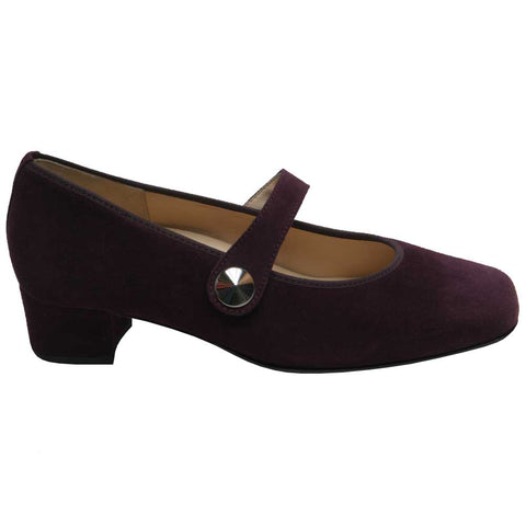 Evelyn Suede MJ Wine J