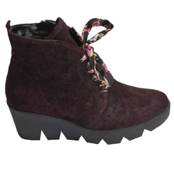 Effie/Hiki Lace Boot Wine