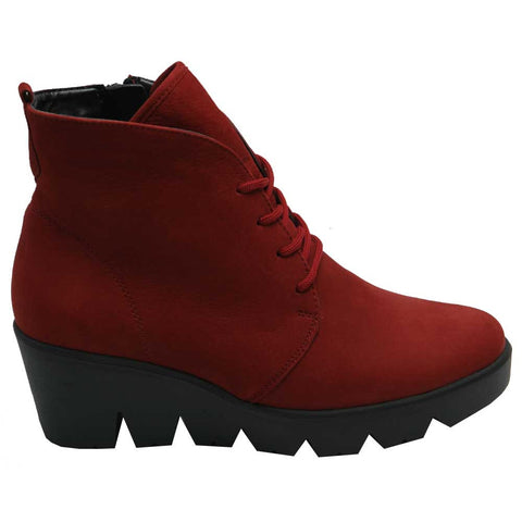 Effie/Hiki Lace Boot Red