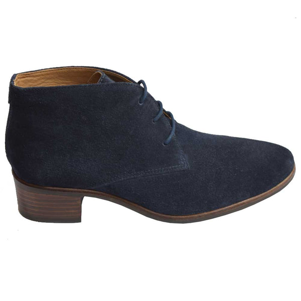 Porto Suede Lace Boot Navy