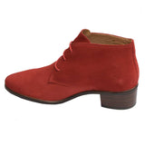 Porto Suede Lace Boot Red