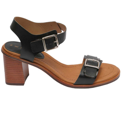 Conigli 3 Buckle Black