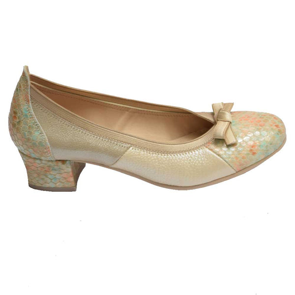 Spain Bow Pump Bone Multi