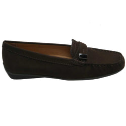 Albany Nubuck Moccasin Brown