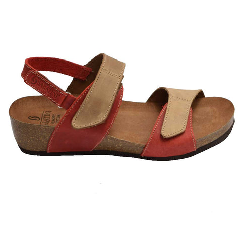 Emanuela Red/Beige