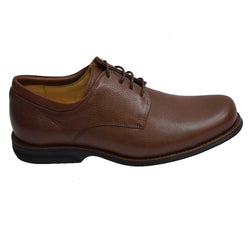 Nelson Plain Toe Chestnut