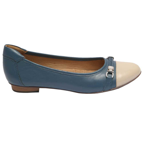London Bit Ballet Blue/Beige