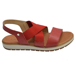 Coast Elastic Sandal Red
