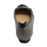 London Bit Ballet Pewter/Python Black