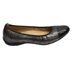Wirth Lazio Cap Toe Ballet Black Stone Multi