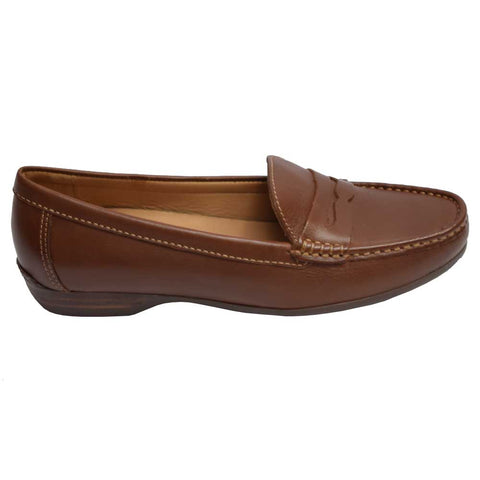 Relax Penny Loafer Luggage