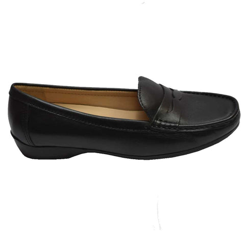 Relax Penny Loafer Preto/Vegetal/Black