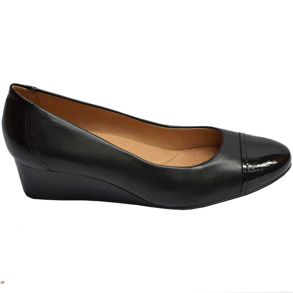 Caravelli Wedge Pump Black
