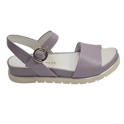 Burgos Buckle Sandal Purple