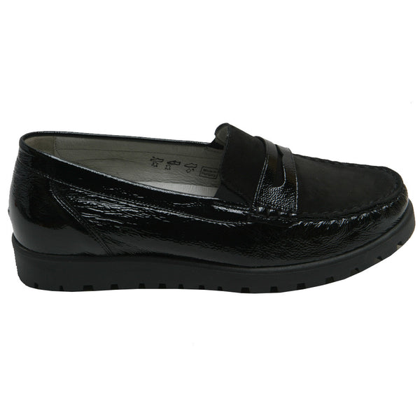 Eliza W/Kegli Penny Loafer Black
