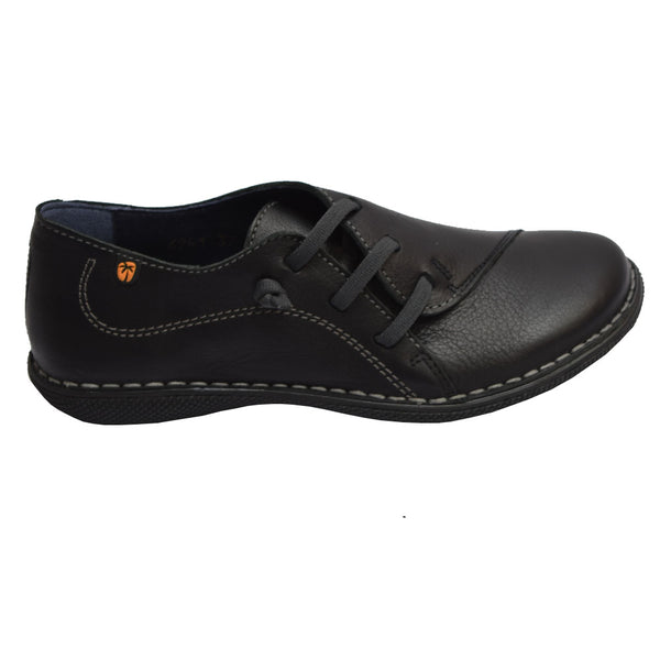 Elastic Slip On Black