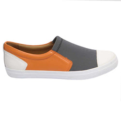 Evidence Loafer White/Orange