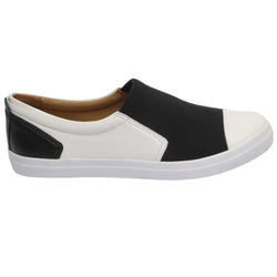 Evidence Loafer White/Black
