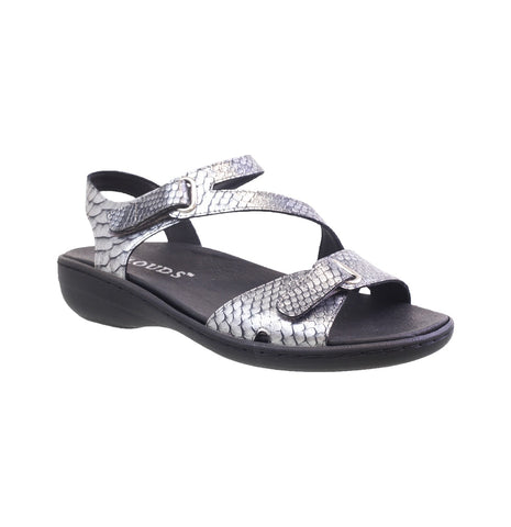 Ava Pewter Croco