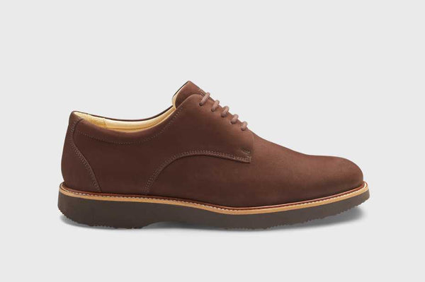 Bucks Plain Toe Brown
