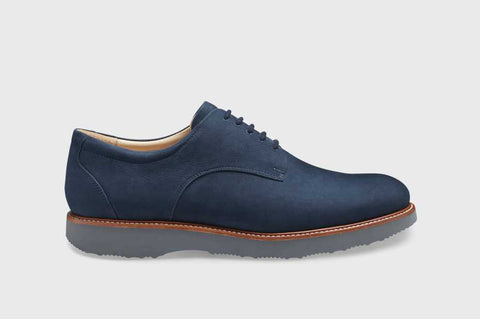 Bucks Plain Toe Navy