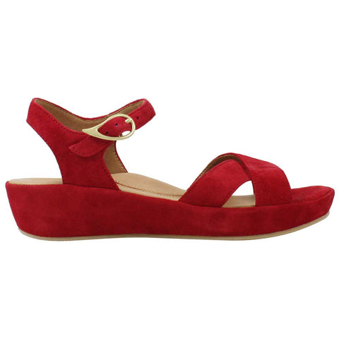 Casimiro Wedge Sandal Red