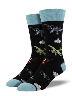 Flyin Bi Socks Black