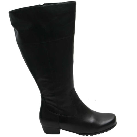 Ilee Wide Calf Boot Black