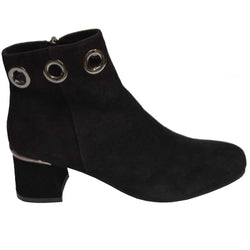 Illary Suede Boot Black