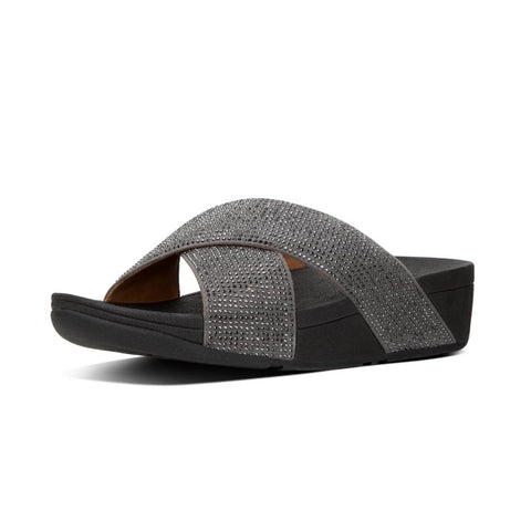 Ritzy Sparkle Slide Pewter