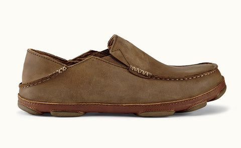Moloa Slip On Dark Wood