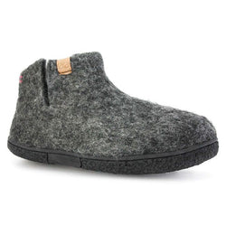 Napal Wool Slipper Dark Grey