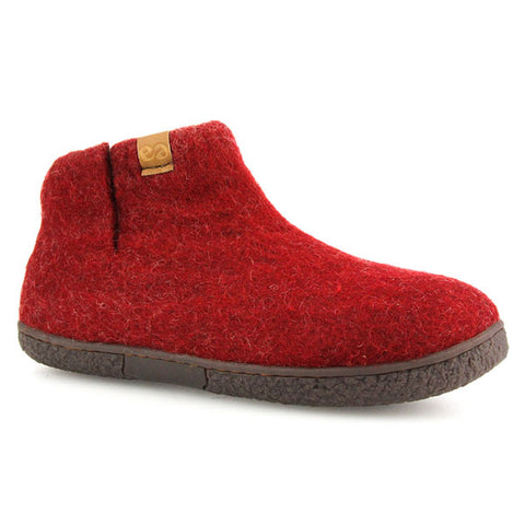Napal Wool Slipper Red