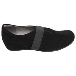 Palermo Wedge Black Suede