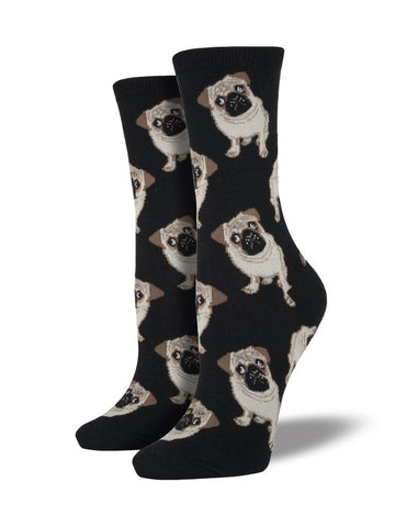 Pugs Socks Black