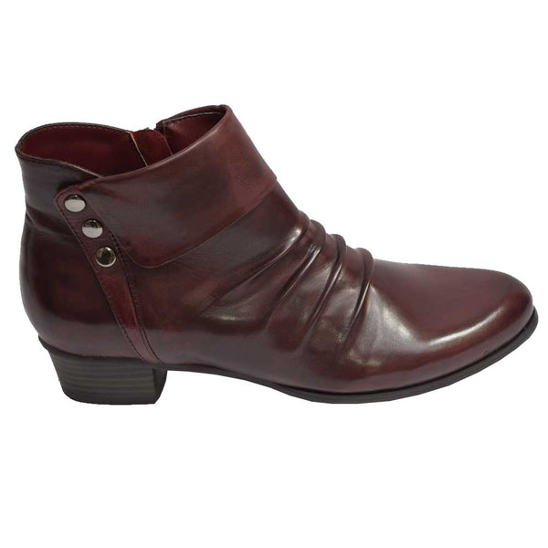 Stefany Slouch Boot Wine