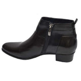 Stefany Patch Boot Black Multi