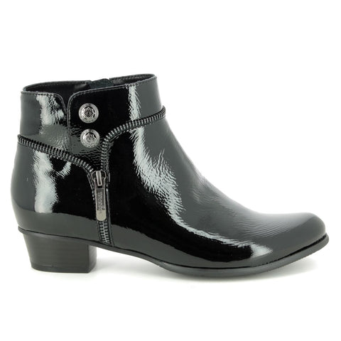 Stefany 277 Pat Boot Black
