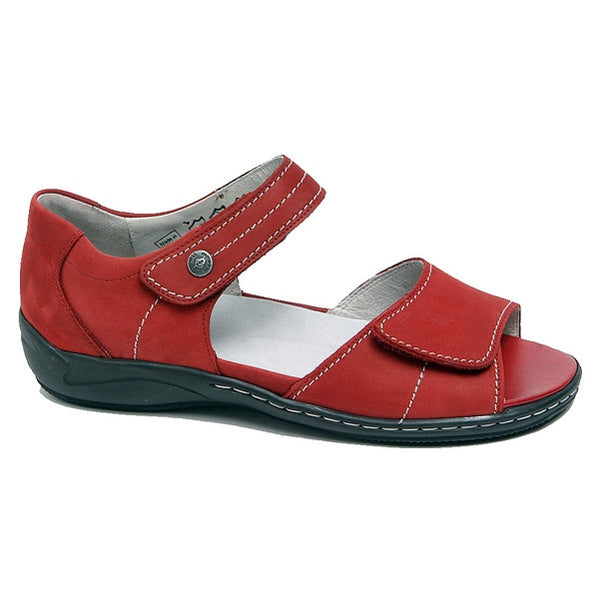 Hilena Red Nubuck