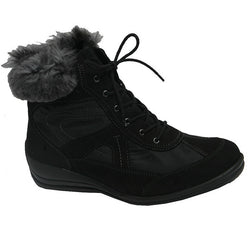 Korinna Lace Boot Black