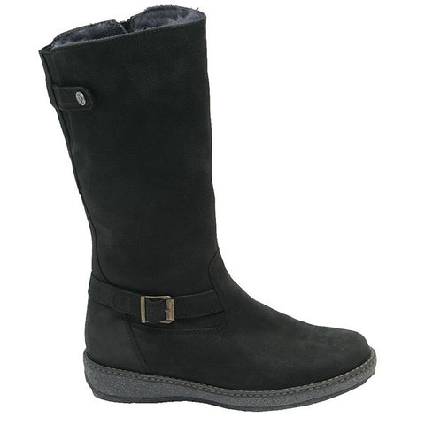 Iris/Hoja Tall Boot Black