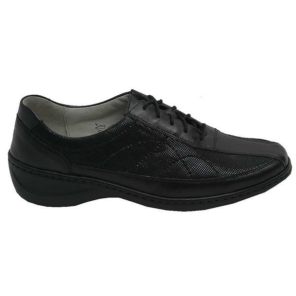 Kya Lace Up Black Spot