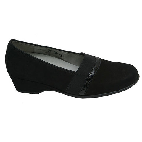 Wendy/Hilke Pump Black Nubuck