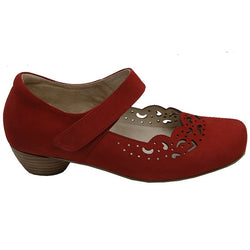 Dina Red Nubuck