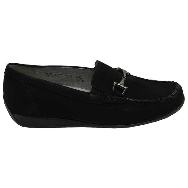 Gitta Bit Loafer Black Nubuck