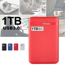 High Qualities 500GB/1TB USB 3.0 SATA External Hard Disk Drive HDD 6 Gbps for Laptop