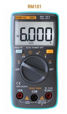 RICHMETERS RM102 True RMS Multifunctional LCD Digital Multimeter