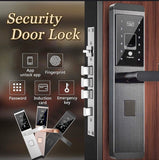Universal security intelligent door lock